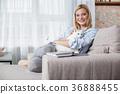 woman, sit, room 36888455