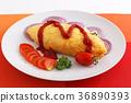 它看起來很美味的煎蛋捲飯 36890393