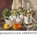Oil, Painting, still 36890930