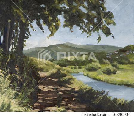 5月的卡諾河 36890936