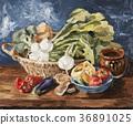 Oil, Painting, still 36891025