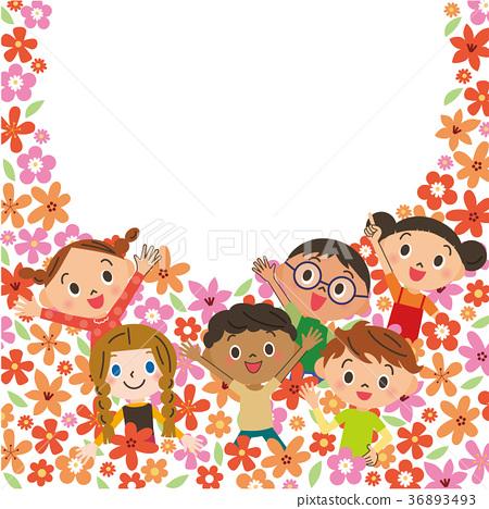 花田裡的孩子們 36893493