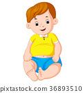 cartoon cute baby 36893510