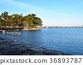 琵琶湖 公园 城堡的废墟 36893787