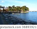 琵琶湖 公园 城堡的废墟 36893921