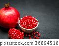 石榴 水果 红色 36894518