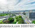 히로시마 현, 히로시마, 도시 풍경 36897407