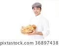 빵을 가진 미소 제과점 36897438