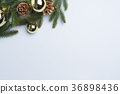 christmas background fir leaves 36898436