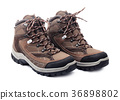 Pair of new hiking boots 36898802