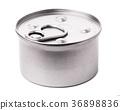Tin with food 36898836