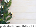 christmas background fir leaves 36899133