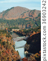 Tadami线,铁路,风景,秋天 36903242