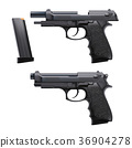 two conditions hand gun 36904278