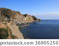 가쓰 우라시 오사와 부근의 바다 36905250