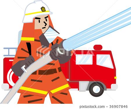 firefighter, fireman, firefighters 36907846