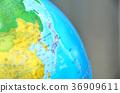 지구본 일본 36909611