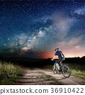 bike, cyclist, night 36910422