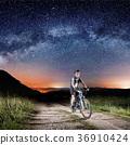bike, cyclist, night 36910424