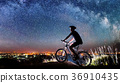 bike, cyclist, night 36910435