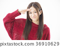 여성 젊은 여성 미소 라이프 스타일 36910629