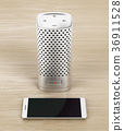Smart speaker and smartphone 36911528