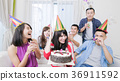 people with birthday party 36911592