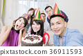 people with birthday party 36911593