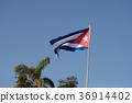 쿠바 국기 36914402