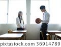 男女在教室里 36914789