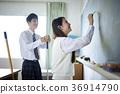男女在教室里 36914790