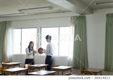 男女在教室里 36914811