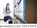 도서관에있는 학생 36914876