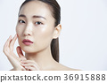 美麗的女人美容肖像 36915888