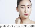 美丽的女人美容肖像 36915980
