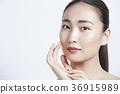美丽的女人美容肖像 36915989