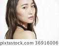 美丽的女人美容肖像 36916006