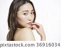 美麗的女人美容肖像 36916034