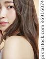 美丽的女人美容肖像 36916074