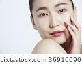 美麗的女人美容肖像 36916090
