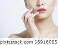 美麗的女人美容肖像 36916095