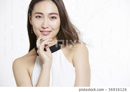 美丽的女人美容肖像 36916126