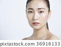 美丽的女人美容肖像 36916133