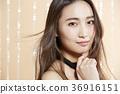 Beautiful woman beauty portrait 36916151
