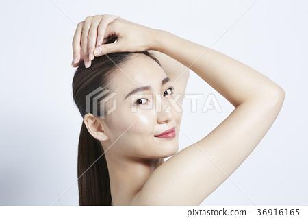 美麗的女人美容肖像 36916165