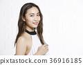 美丽的女人美容肖像 36916185