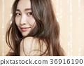 Beautiful woman beauty portrait 36916190