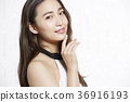 美丽的女人美容肖像 36916193