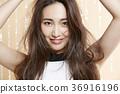 美丽的女人美容肖像 36916196