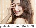 Beautiful woman beauty portrait 36916208